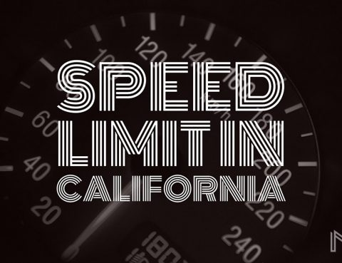 speed limit in california